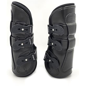 Majyk Equipe® Estrella Carbon Leather Tendon Boots