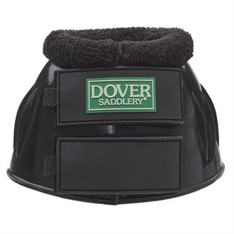 Dover Saddlery® PVC Hook-and-Loop Bell Boots with Fleece