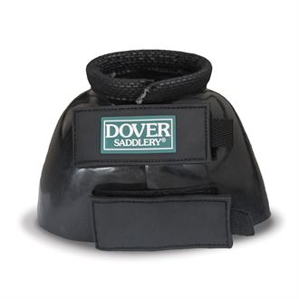 Dover Saddlery® PVC No-Turn Bell Boots with Synthetic Cuff
