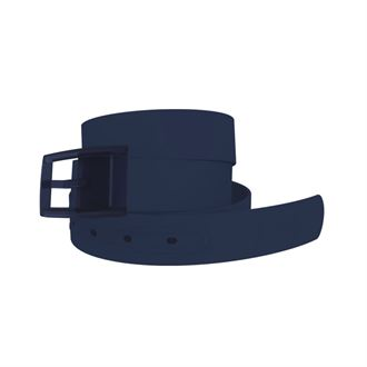C4 Solid Navy Belt with Matching Buckle