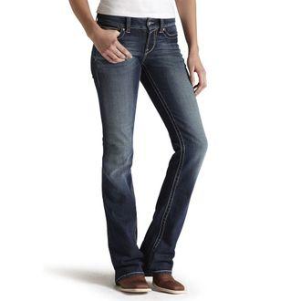 Ariat® Ladies' R.E.A.L. Mid-Rise Stretch Original Boot Cut Jean