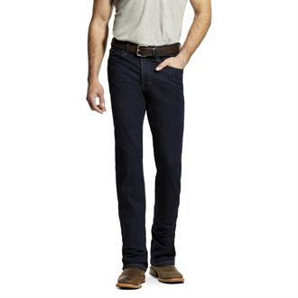 Ariat® Men's M1 Vintage Stretch Legacy Stackable Straight Leg Jean in Abraded Rinse