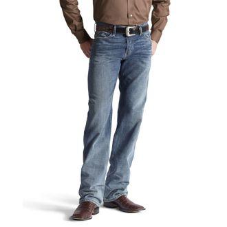Ariat® Men's M3 Legacy Straight Jean in Scoundrel