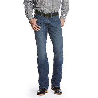 Ariat® Men's M5 Slim Stretch Legacy Stackable Straight Leg Jean