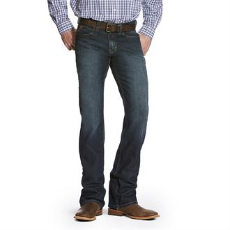 Ariat® Men's M7 Rocker Stretch Legacy Stackable Straight Leg Jean in Fremont