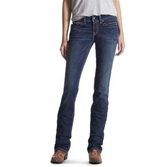 Ariat® Ladies' R.E.A.L. Stretch Icon Stackable Straight Leg Jean