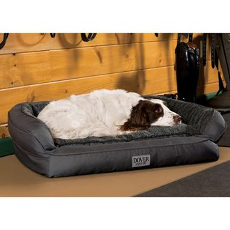 Dover Saddlery® EZ Wash Small Bolster Dog Bed