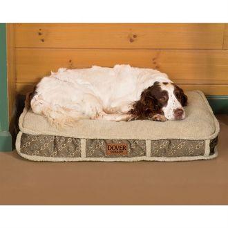 Dover Saddlery® Medium Bit-by-Bit™ Rectangle Dog Bed