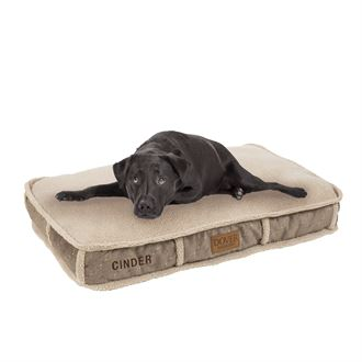 Dover Saddlery® Large Bit-by-Bit™ Rectangle Dog Bed