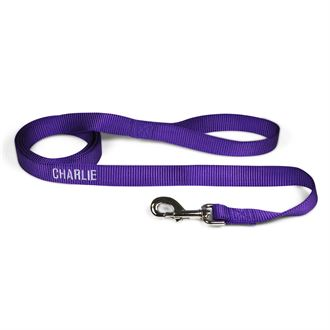 "3 Dog Pet Supply 1"" Wide Personalized Dog Lead"