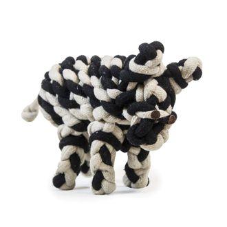 Dover Saddlery® Zebra Dog Toy