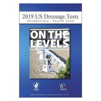 USDF 2019 On The Levels Dressage Tests DVD