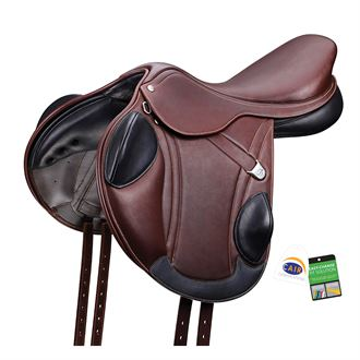 Bates® Advanta Monoflap Eventing Saddle