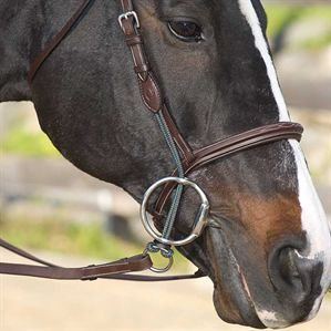 """Pair of 3.5/"""" BLACK Rubber Bit Guards Western English Bridle Horse Tack"""