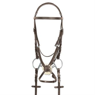 Ovation® Elite RCS Fancy-Stitched Figure-8 Bridle