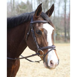 Henri De Rivel Kushy Bridle with Flash Attachment