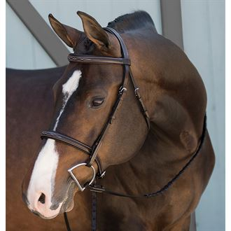 Suffolk® by Dover Saddlery® Fancy-Stitched Single Crown Bridle