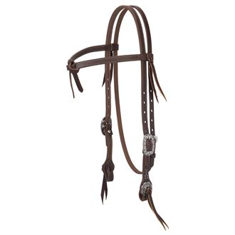Weaver Leather® Working Tack Futurity Know Browband Headstall