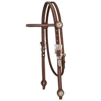 Weaver Leather® Stacy Westfall Showtime Browband Headstall