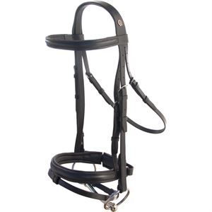 Otto Schumacher Cut-Back Crown Snaffle Bridle