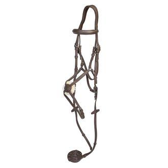 Henri de Rivel Kushy Plain Raised Figure-8 Bridle