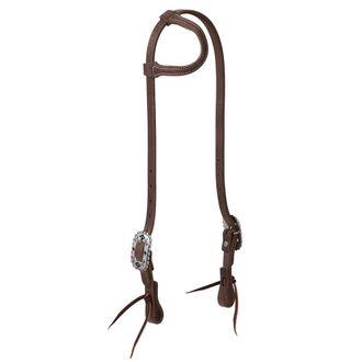 Weaver Leather® ProTack® Sliding Ear Headstall with Designer Hardware, Native
