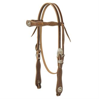 Weaver Leather® Western Edge Browband Headstall