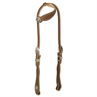 Weaver Leather® Western Edge Sliding Ear Headstall