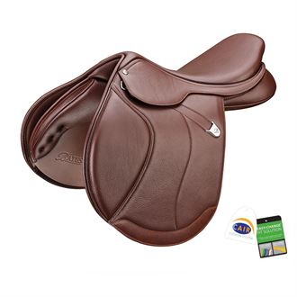 Bates Caprilli Close Contact+ Forward Flap Saddle