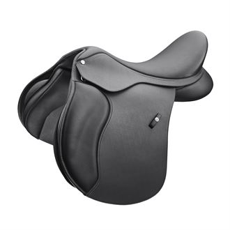 Wintec 500 All-Purpose Saddle with Flocked Panels