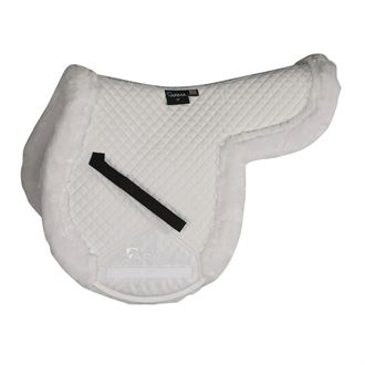 Shires SupaFleece-Lined Shaped Pad