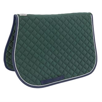 Dover Saddlery® Quilted All-Purpose Piped Saddle Pad