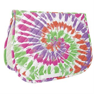 Dover Saddlery® Tie-Dye Print All-Purpose Saddle Pad