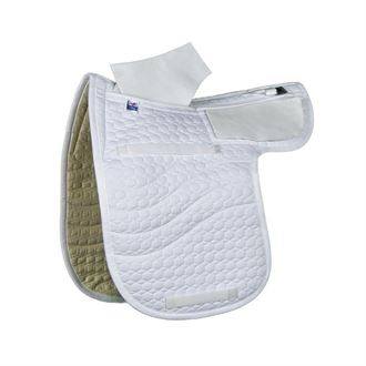 E.A. Mattes Dressage Contour Quilt Only Correction Pad with Pockets for Shims