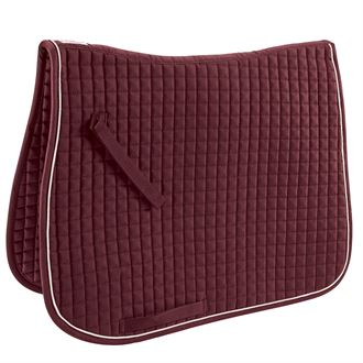 Dover Saddlery® Quilted Dressage Square with Piping