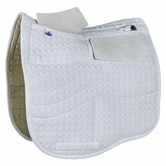 EA Mattes Dressage EuroFit Quilt Only Correction Pad with Pockets for Shims