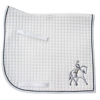 PRI Half Pass Embroidered Dressage Pad