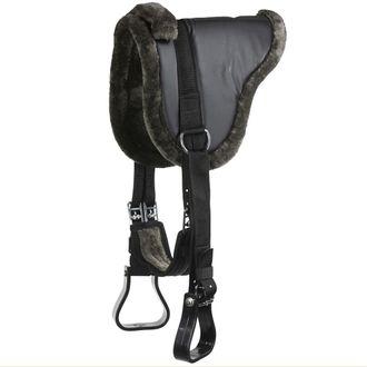 Horze Limited Edition PU Suede Bareback Saddle Package