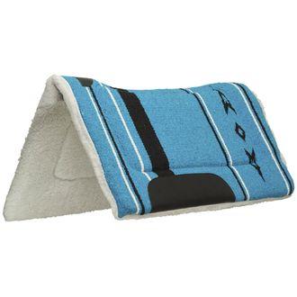 Weaver Leather® Fleece-Lined Acrylic Contoured Western Saddle Pad