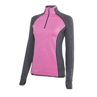 Noble Outfitters™ Ladies Athena Fleece-Lined Quarter-Zip Top