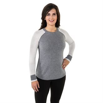 Noble Outfitters™ Ladies Homerun Crew Sweater