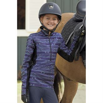 Kerrits® Kids' Counter Canter Fleece Half-Zip Top