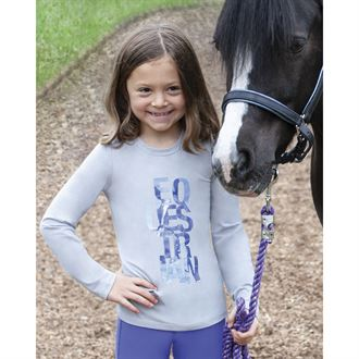 Irideon® Kids' Equestrian Long Sleeve Tee