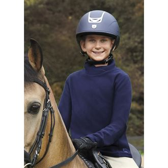 Riding Sport® by Dover Saddlery® Girls' Wrap Turtleneck Fleece Top