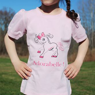 Belle & Bow Equestrian Childrens Adorabelle Tee
