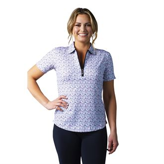 SanSoleil™ Ladies' SolCool® Fitted Short Sleeve Polo Shirt