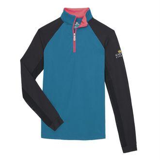 Kastel Denmark Ladies' Color-Block Lightweight Sun Shirt