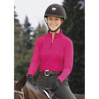 Dover Saddlery® Ladies' Three-Season Quarter-Zip Top