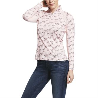 Ariat® Ladies' Print Sunstopper Top 2.0