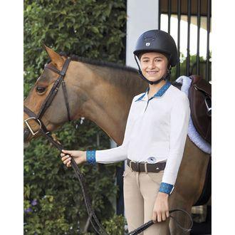 Essex Classics Girls' Talent Yarn® Long Sleeve Show Shirt